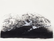 Kate Hammersley Spring Snow Melt Rochers de Naye