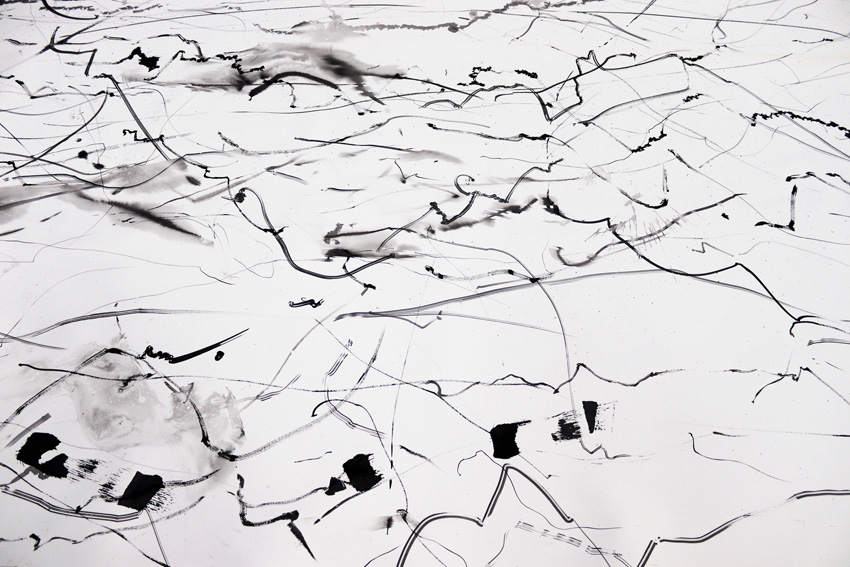 Kate Hammersley Helium Drawing detail 1