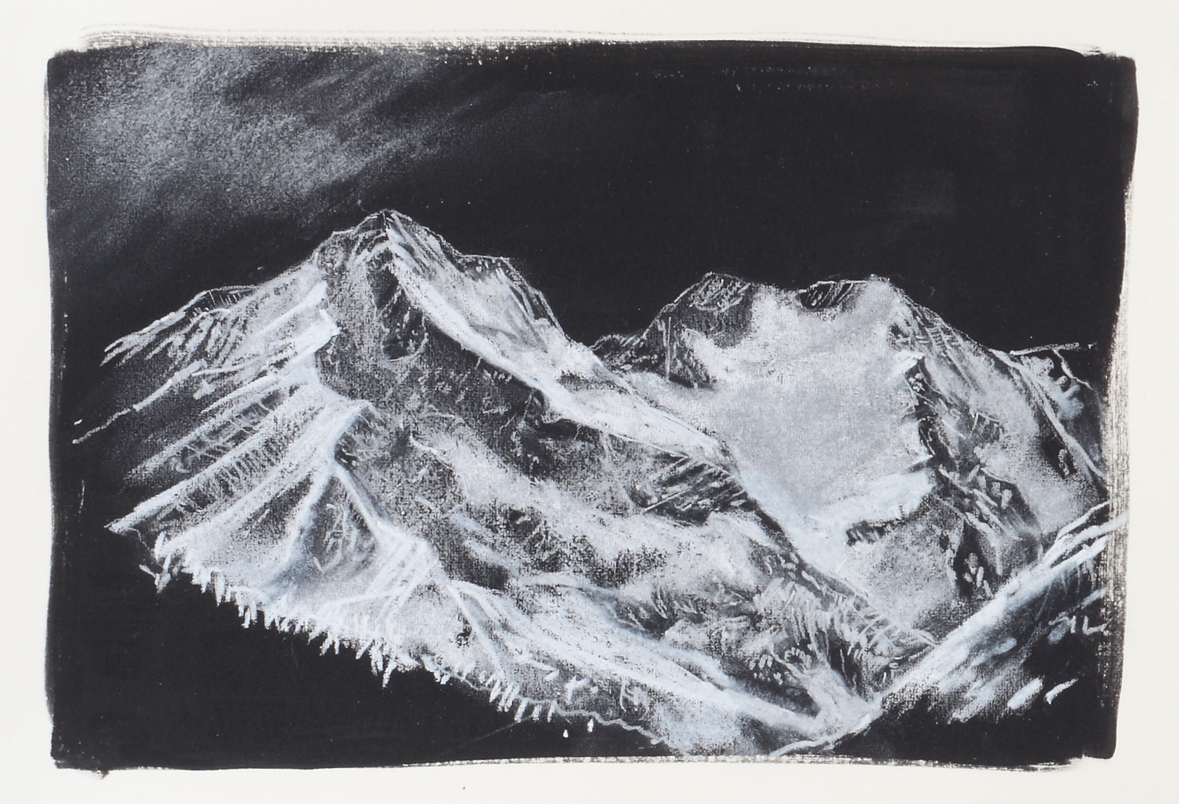 Kate Hammersley Chartreuse Mountains, Grenoble