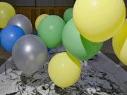Kate Hammersley Flows Helium Balloon Drawing